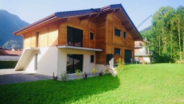 Ravalement de  façades à Thones 74230 Haute Savoie