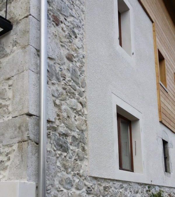 Jointement des pierres + sablage à Doussard 74210 – Haute Savoie