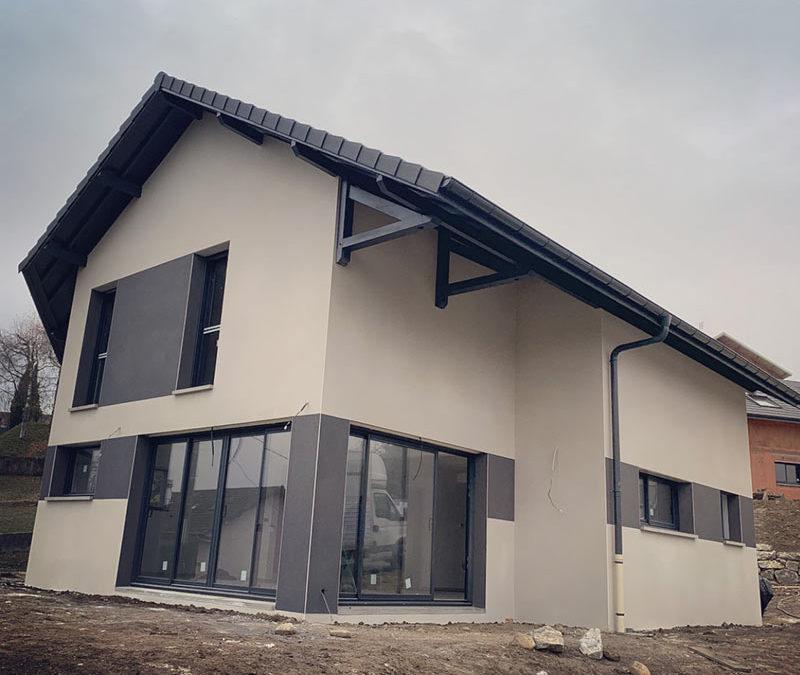 Ravalement de façades à Albens 73410